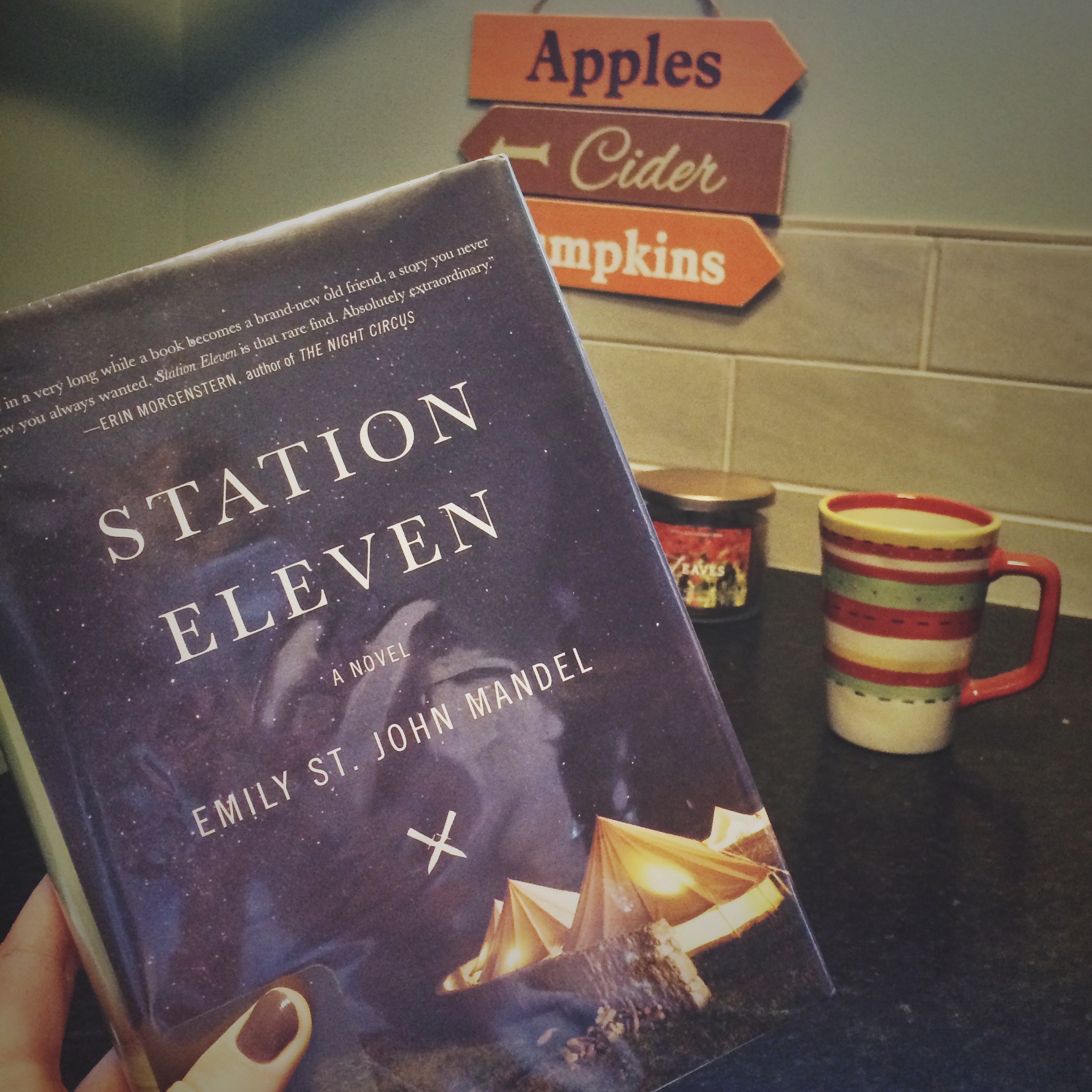 I'm Having A Hard Time Deciding How To Put My Opinions Of Station Eleven By Emily  St John Mandel Into Words I Definitely Liked The Book; I'm Just Not Sure