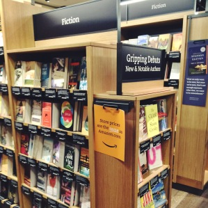 Amazon's physical bookstore